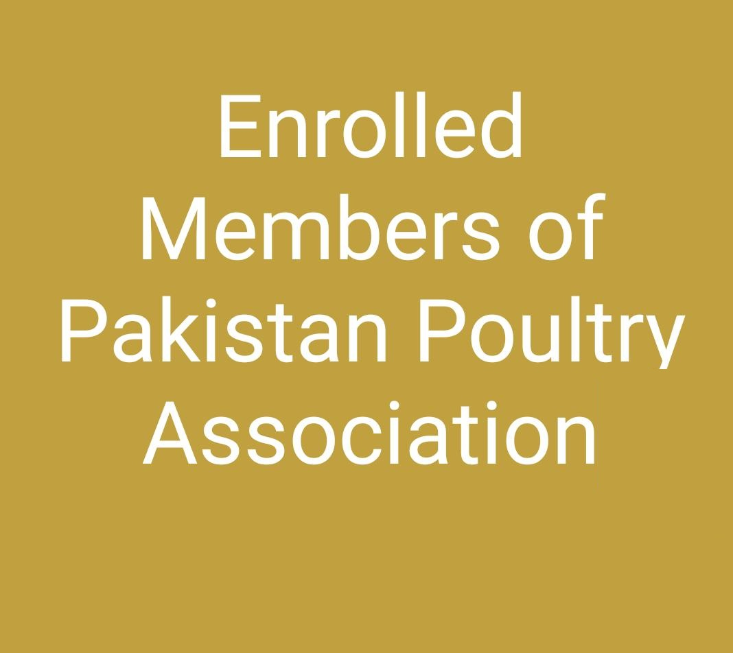 Detail Of Enrolled Members Of Pakistan Poultry Association